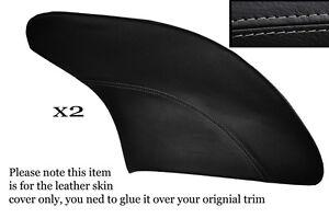 BLACK STITCH CUSTOM FITS KAWASAKI GPZ 900 84-96 DUAL LEATHER SEAT COVER