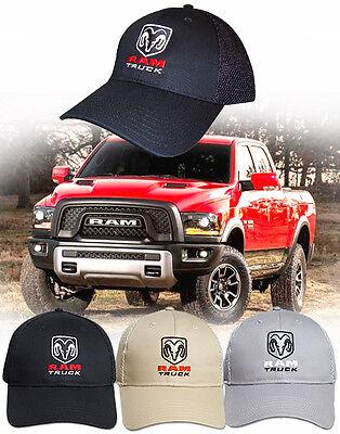 NEW! Ram Truck Hat - Dodge HEMI 4X4 SLT Laramie Big Horn Longhorn Trucks