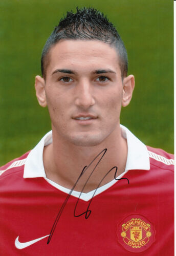Manchester United Hand Signed Federico Macheda Photo 12x8.