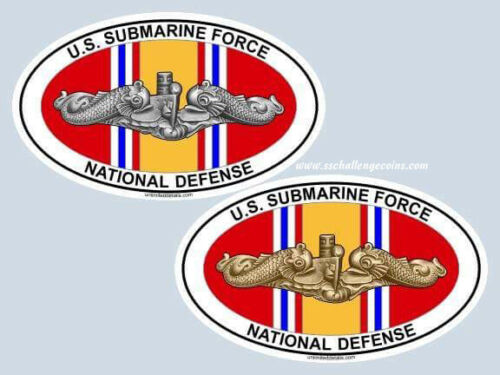US Submarine Force National Defense Decal SS SSN NAVY Auto Truck Your Choice