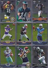 HUGE lot of 69 2010-2013 Topps Chrome Rookie cards RC's -Cordarrelle Patterson