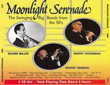 MOONLIGHT SERENADE : BENNY GOODMAN, WOODY HERMAN, GLENN MILLER / 3 CD-SET