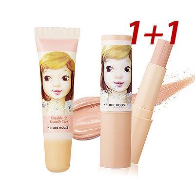 [ETUDE HOUSE] [1+1] Kissful Lip Care Lip Concealer 3.5g+ Lip Scrub 10g