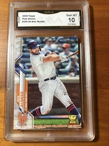 2020 Topps Series 1 Pete Alonso #350 NY Mets All-Star Rookie Cup GMA 10 - Gem MT