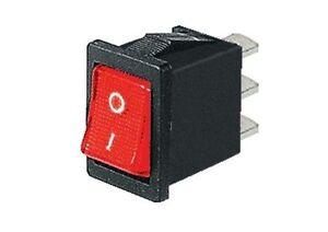 Interruttore-a-bilanciere-220V-6A-unipolare-con-tasto-rosso-luminoso-21x15mm-12V