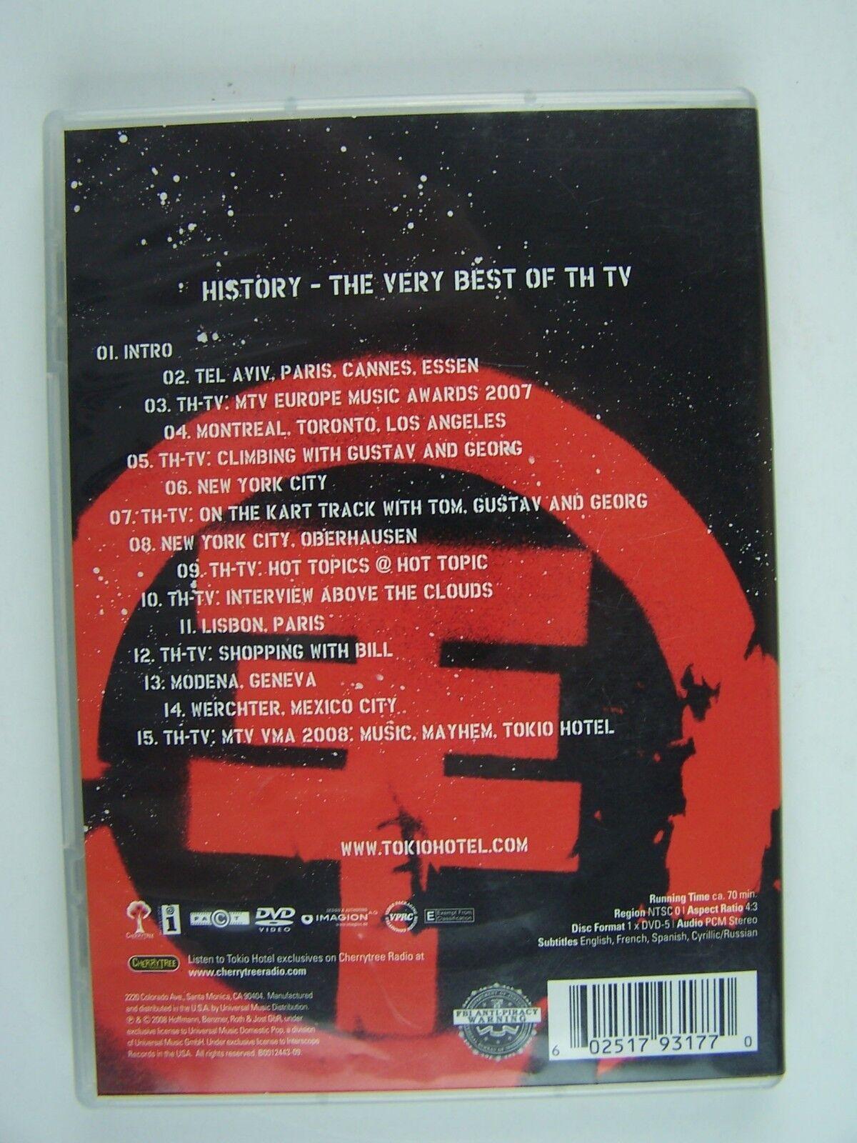 Tokio Hotel TV - Caught on Camera! DVD 602517931770