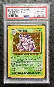 Pokemon-PSA-8-Italian-Nidoking-Holo-Base-Set-11-102