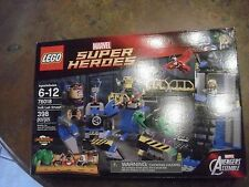 Lego Marvel Super Heroes Hulk Lab Smash set 76018 retired Factory Sealed MIB