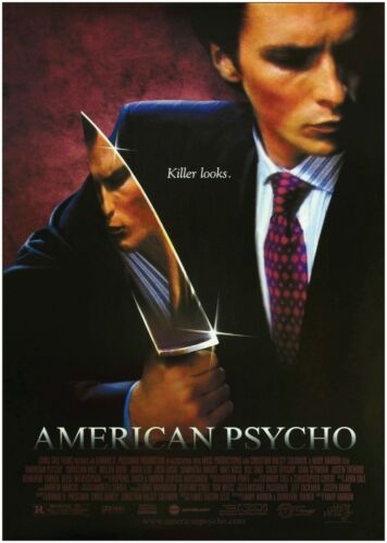American Psycho Classic Large Movie Poster Print