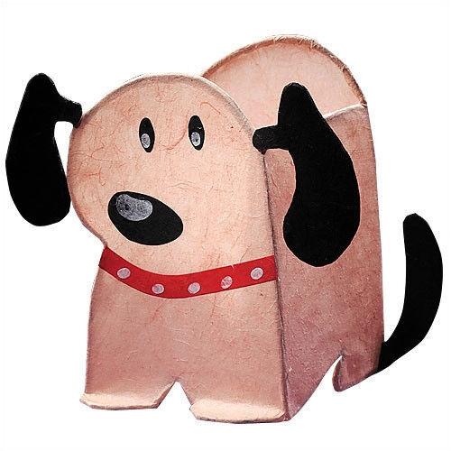 KUMO PAPER NIGHT LIGHT PAL-LUMISOURCE DOG-25W-6/' CORD NEW OLD STOCK SAVE!
