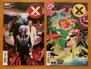 X-MEN-4-DX-Yu-Main-Ortega-Venom-Island-Variant-Set-Marvel-2019-NM