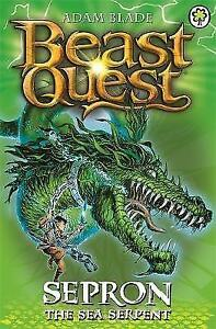 Sepron-the-Sea-Serpent-Beast-Quest-by-Adam-Blade-Good-Used-Book-Paperback-F