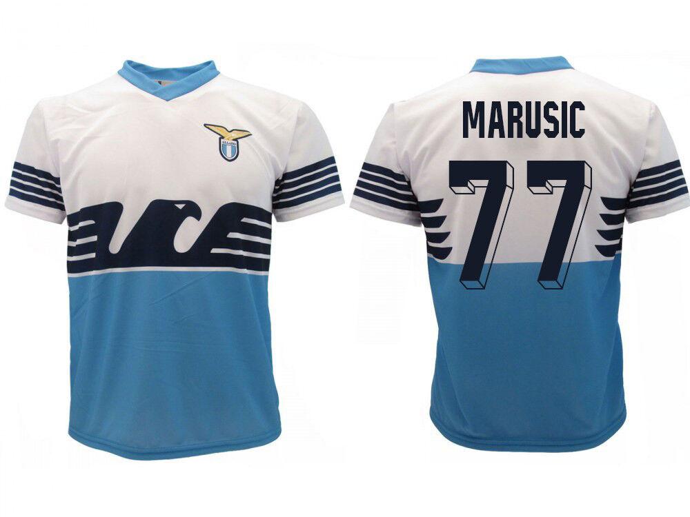 Trikot Lazio Rom Marusic 2019 Offizielles Produkt SS Home Adler Adam 77