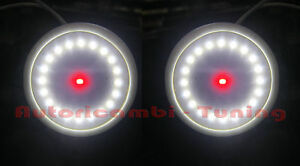 Plafoniere Led Rosse : Luce plafoniera interna abitacolo led smd bianca rosso alfa