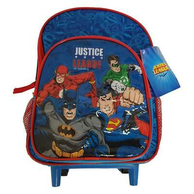 Umoristico Ufficiale Justice League Deluxe Trolley Borsa Zaino Regalo Blu-mostra Il Titolo Originale