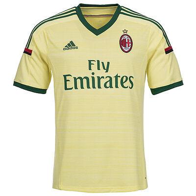 AC Mailand adidas 3rd Trikot D87207 Herren Ausweichtrikot 3rd Jersey S - 2XL neu