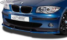 RDX Frontspoiler VARIO-X für BMW 1er E81 / E87 ohne M-Technik bis 2007