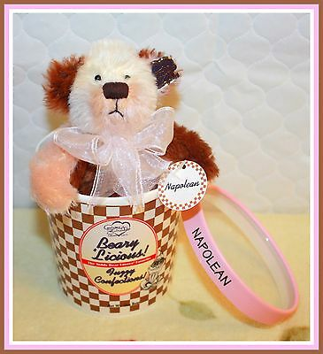 *NEW* ANNETTE FUNICELLO NAPOLEAN BEARYLICIOUS FUZZY CONFECTIONS RETIRED
