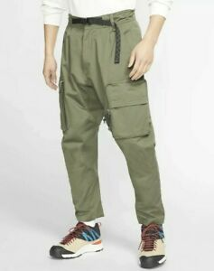 MEN-039-S-NIKE-ACG-WOVEN-CARGO-PANTS-Olive-Green-CD7646-325-Size-2XL-Retail-for-180