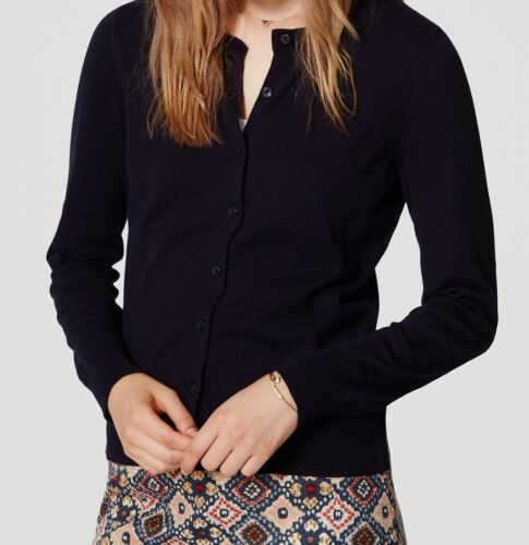Ann Taylor LOFT  Signature Cotton Cardigan Various Colors and Sizes NWT