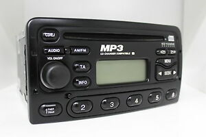 Ford-6000-mp3-CD-Black-Original-Car-Radio-6000mne-Tuner-2-S-4-J-18-C-939-bayye-5-Radio