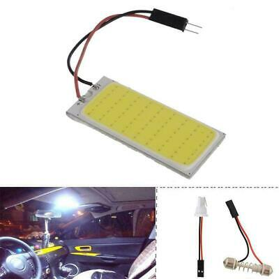 36//48 smd cob led 12v white light car interior panel lights dome lamp bulb WD