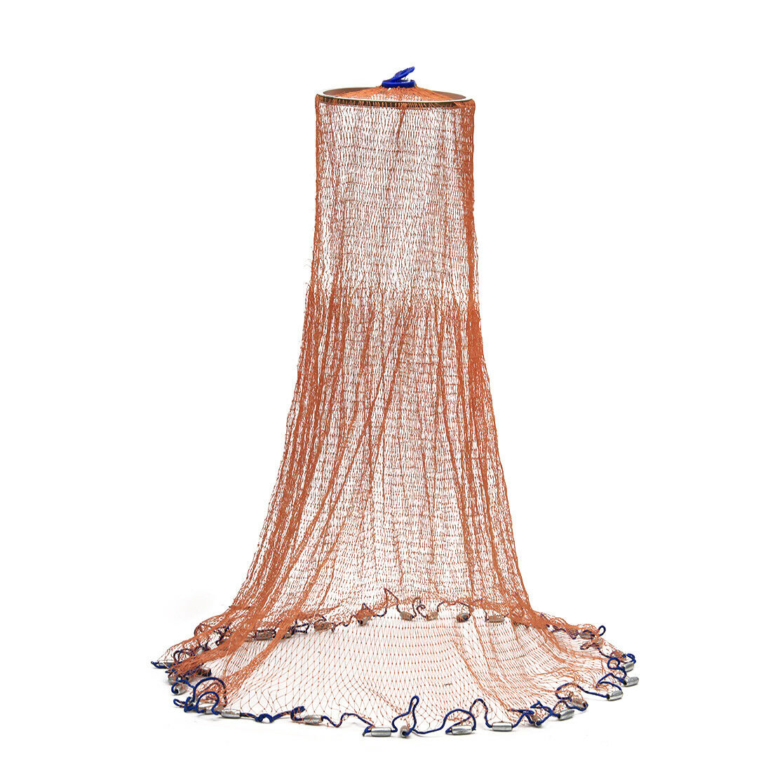 ZANLURE 3.6M Cast Fishing Net American Style Throwing Fishing Network Strong