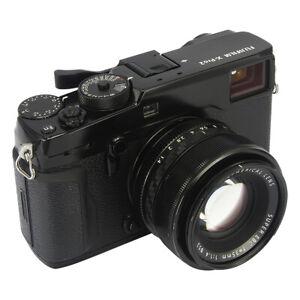 Camara-De-Metal-Thumbs-Up-Agarre-Mano-Agarre-Para-Fujifilm-Fuji-X100F-X-Pro2-XPro-2-Negro