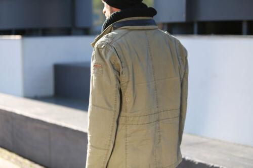 Brandit Britannia Herren Übergangs jacke Vintage Outdoor Jackett Army schwarz