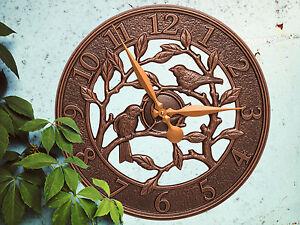 Woodridge-Bird-16-034-Indoor-Outdoor-Wall-Clock