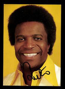 Roberto Blanco  Autogrammkarte Original Signiert ## BC 87276