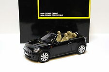 1:18 Kyosho Mini Cooper R57 Cabrio black DEALER SP NEW bei PREMIUM-MODELCARS