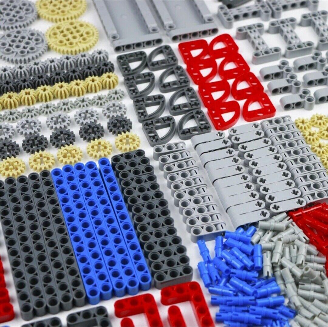 Compatible con 760 un. piezas Lego Technic conjunto de bloques de construcción a granel Gear studless Haz