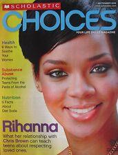 RIHANNA September 2009 SCHOLASTIC CHOICES Magazine