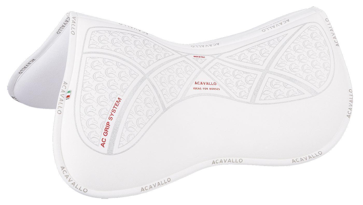 Sattelunterlage Sattelkissen weiches Memory Pad AC -GRIP Acavallo Weiß Full NEU
