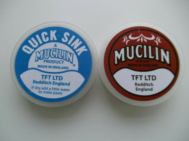 Fly Fishing: MUCILIN FLOTANT & QUICKSINK  TWIN PACK   -     LINE / FLY TREATMENT