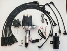 Small Cap Pontiac 350 389 400 455 Pro Series Hei Distributor Black Coil Wires