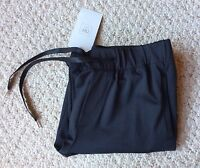 Zara Black Casual Drawstring Pants Front Side Pockets Zara Pants Medium