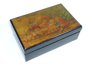 Unusual-Wooden-Box-Casket-Container-with-Brand-Painting-1894-B-01p