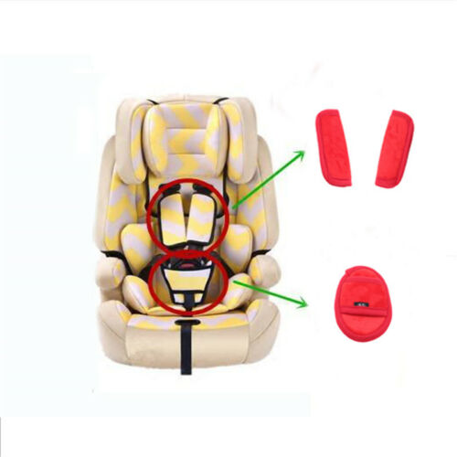 Baby Plush Crotch Straps Pad Car Seat Belt Cover Shoulder Baby Kids Harness JJ