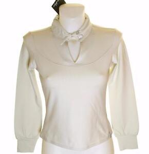 Bnwt-Women-039-s-Oakley-Par-Stretch-Golf-Polo-Shirt-Xsmall-Long-Sleeve-Grey