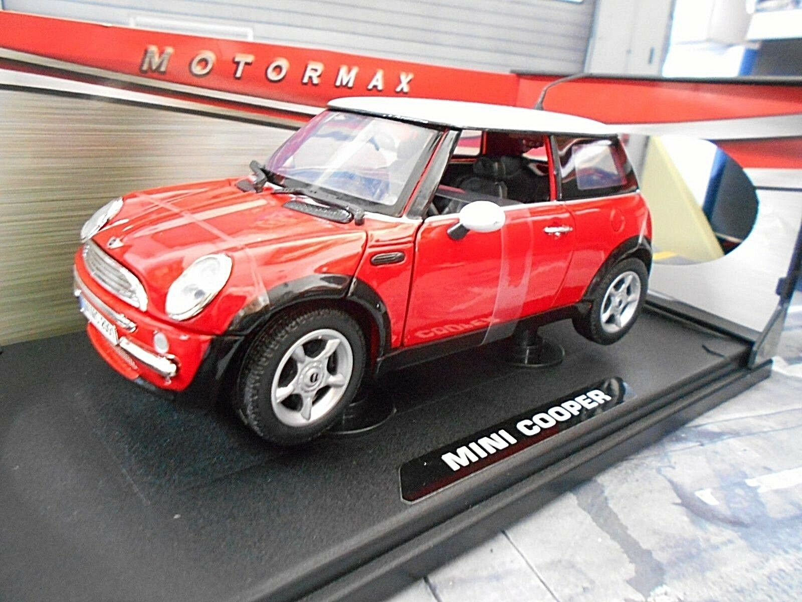 BMW MINI MINI Cooper new 2005 red red  S-Preis Motormax 1 18