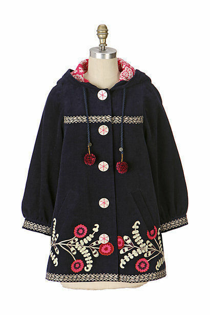 Very Rare Anthropologie Embroidered  Everest Climb Parka  Coat 6