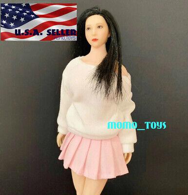 "1//12 Sweater Dress Set For 6/"" TBLeague PHICEN PHMB2018 T01 Female Body Doll USA"