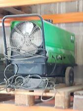50kW Diesel Heizgebläse Dieselkanone Hallenheizung mit 1100 m³//h Gebläseleistung