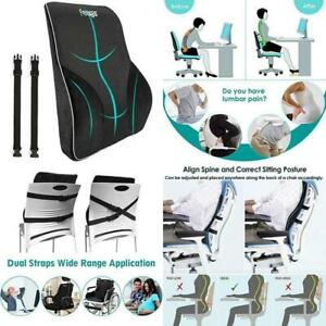Remarkable Details About Lumbar Support Pillow Back Cushion Memory Foam Orthopedic Backrest For Car Seat Caraccident5 Cool Chair Designs And Ideas Caraccident5Info