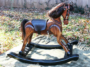 Image is loading ROCKING-HORSE-Paper-Patterns-BUILD-YOUR-CHILDS-ROCKER-