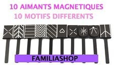 LOT DE 10 AIMANTS POUR VERNIS MAGNETIQUE DECORATION D'ONGLE NAIL AIMANT