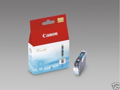 CARTOUCHE CANON PHOTO CYAN 100%NEUVE CLI-8 CLI8 CLI-8PC