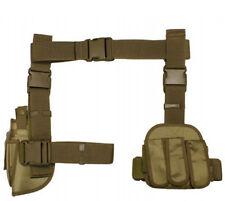 NcSTAR VISM Airsoft 3 Pcs Drop Leg Gun Pistol Holster & Magazine CV2908T TAN